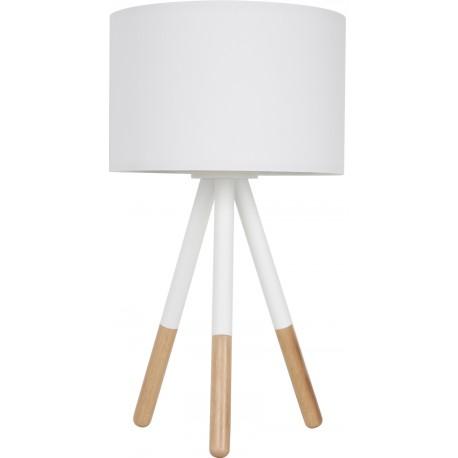 Biała lampa stołowa HIGHLAND - ZUIVER