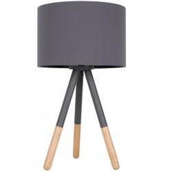 Szara lampa stołowa HIGHLAND - ZUIVER