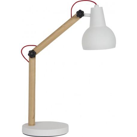 Urocza lampka biurkowa STUDY biała - ZUIVER