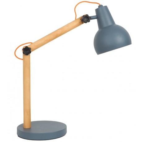 Szara lampa biurkowa STUDY - ZUIVER