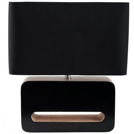 Czarna lampa stołowa WOOD - ZUIVER