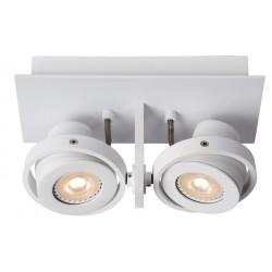 Biały spotlight LUCI-2 LED - ZUIVER