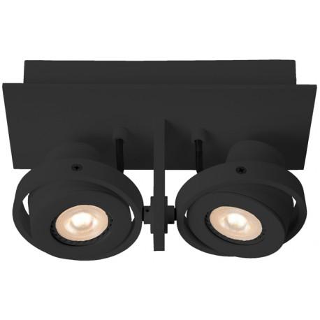 Czarny reflektor punktowy LUCI-2 LED - ZUIVER