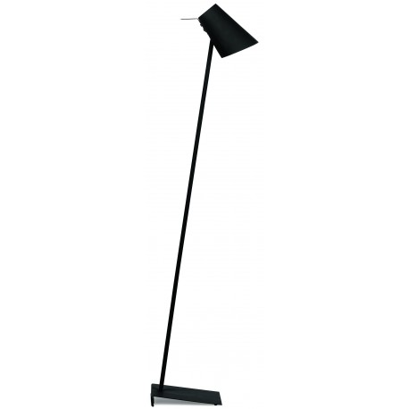 Nowoczesna lampa podłogowa CARDIFF czarna - It's About RoMi