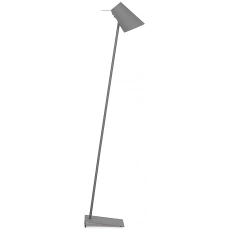 Ciemnoszara lampa podłogowa CARDIFF - It's About RoMi