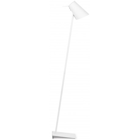 Biała lampa podłogowa CARDIFF - It's About RoMi