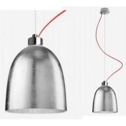 Srebrna lampa AWA marki Sotto Luce