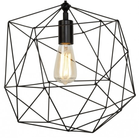 Ażurowa lampa wisząca z żelaza Copenhagen - It's About RoMi