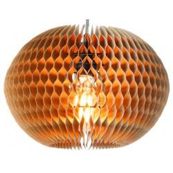 Papierowa lampa wisząca Yucatan (31,5x23cm) naturalna S - It's About RoMi