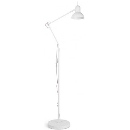 Biała lub czarna lampa podłogowa Nottingham - It's About RoMi