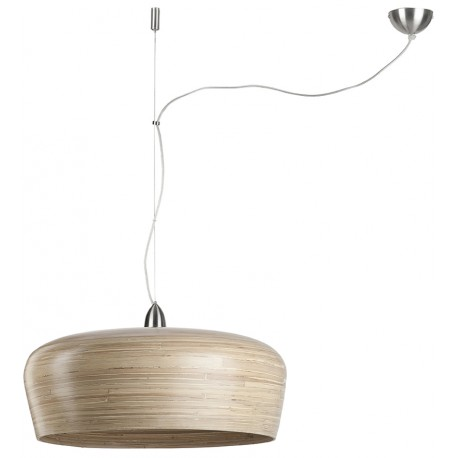 Naturalna lampa wisząca Hanoi (jeden abażur) - It's About RoMi