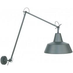 Lampa ścienna z ramieniem Chicago (szara lub biała) - It's About RoMi