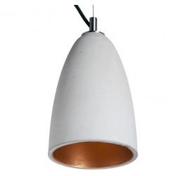Betonowa lampa wisząca w dwóch rozmiarach do wyboru