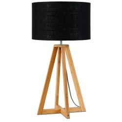 Drewniana lampa stołowa z abażurem EVEREST - It's About RoMi