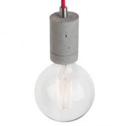 Nowoczesna lampa betonowa