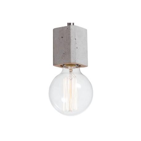 Betonowa lampa wisząca do nowoczesnych wnętrz