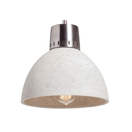 Oryginalna lampa industrialna z betonu i metalu
