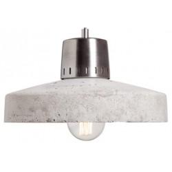 Nowoczesna lampa z betonu i metalu