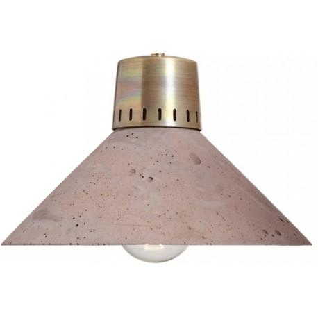 Oryginalna lampa z betonu i metalu