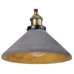 Industrialna lampa betonowa
