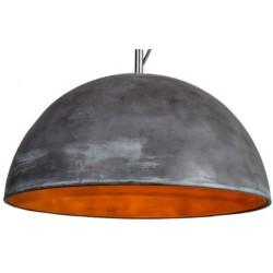 Unikatowa lampa betonowa L (antracytowa)
