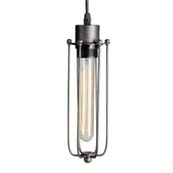 Industrialna lampa wisząca z metalu