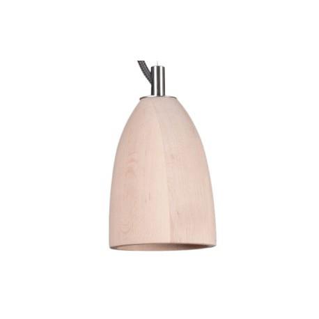 Drewniana lampa wisząca XS