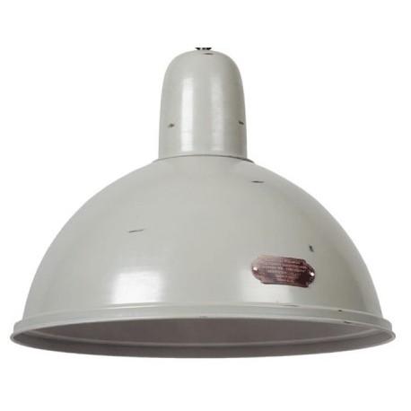 Przemysłowa lampa wisząca L (biała, czarna i rusty)
