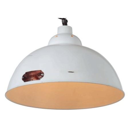 Emaliowana Na Czarno Lub Bialo Lampa Industrialna