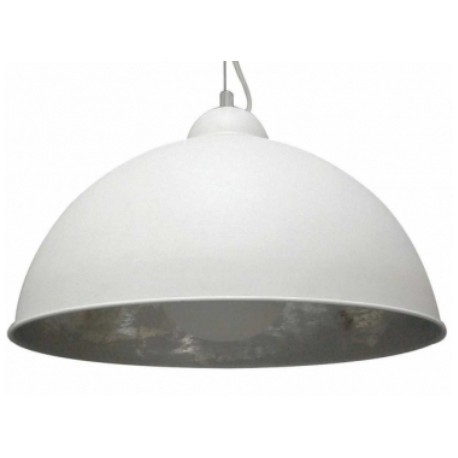 Ciekawa lampa wisząca Antenne Silver