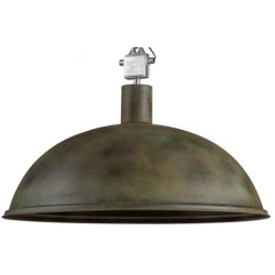 Duża lampa industrialna XL - Rusty Green