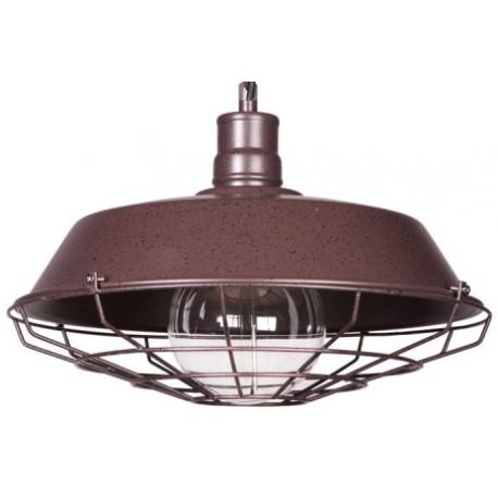 Metalowa lampa industrialna
