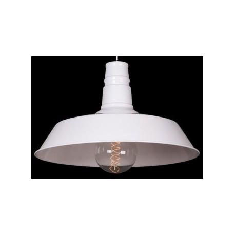 Biała lampa industrialna S1