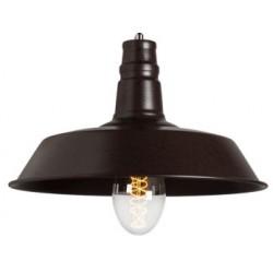 Metalowa lampa industrialna o prostej formie S2