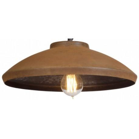 Rdzawa lampa industrialna - Rusty