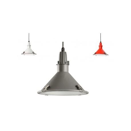 Industrialna lampa wisząca do wewnątrz i na zewnątrz