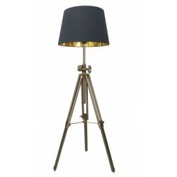 Nowoczesna lampa na statywie trójnożnym