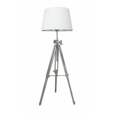 Nowoczesna lampa na trzech nogach - biała