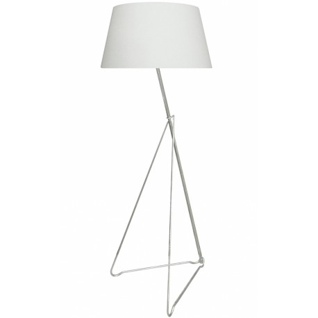 Nietypowa lampa podłogowa WHITE