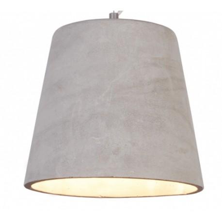 Lampa wisząca z naturalnego cementu