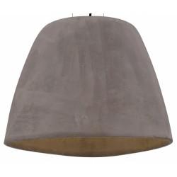 Minimalistyczna lampa wisząca z cementu