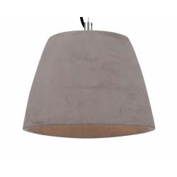 Nieduża lampa wisząca z cementu
