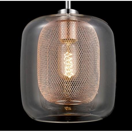 Lampa wisząca Glass&Metal