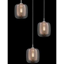 Oryginalna lampa wisząca o industrialnym designie