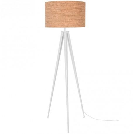 Prosta, trójnożna lampa TRIPOD CORK biała lub czarna- ZUIVER