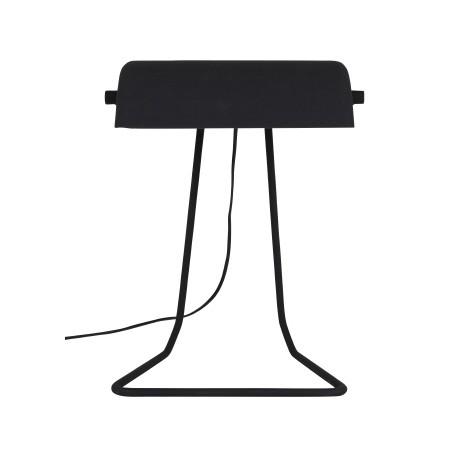 Lampa stołowa z betonowym abażurem Broker (szara lub czarna) - Zuiver