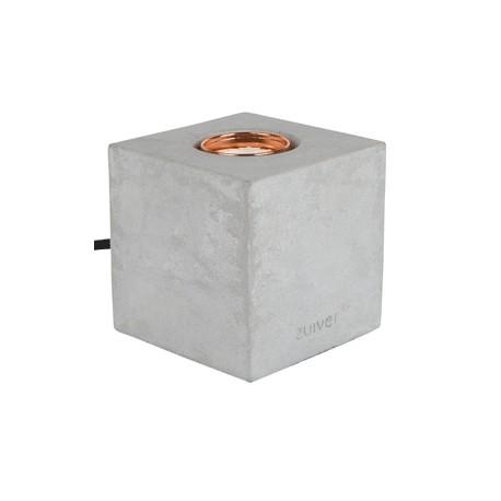 Betonowa lampa stołowa Bolch - Zuiver