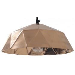 Miedziana lampa wisząca DIAMOND - HK Living