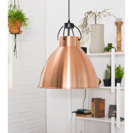 Miedziana lampa wisząca DELIVING  - ZUIVER