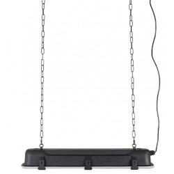 Niebanalna lampa wisząca G.T.A. (czarna, L) marki Zuiver